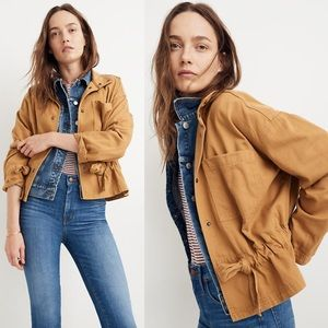 Madewell Southlake Snap-Front Military Jacket